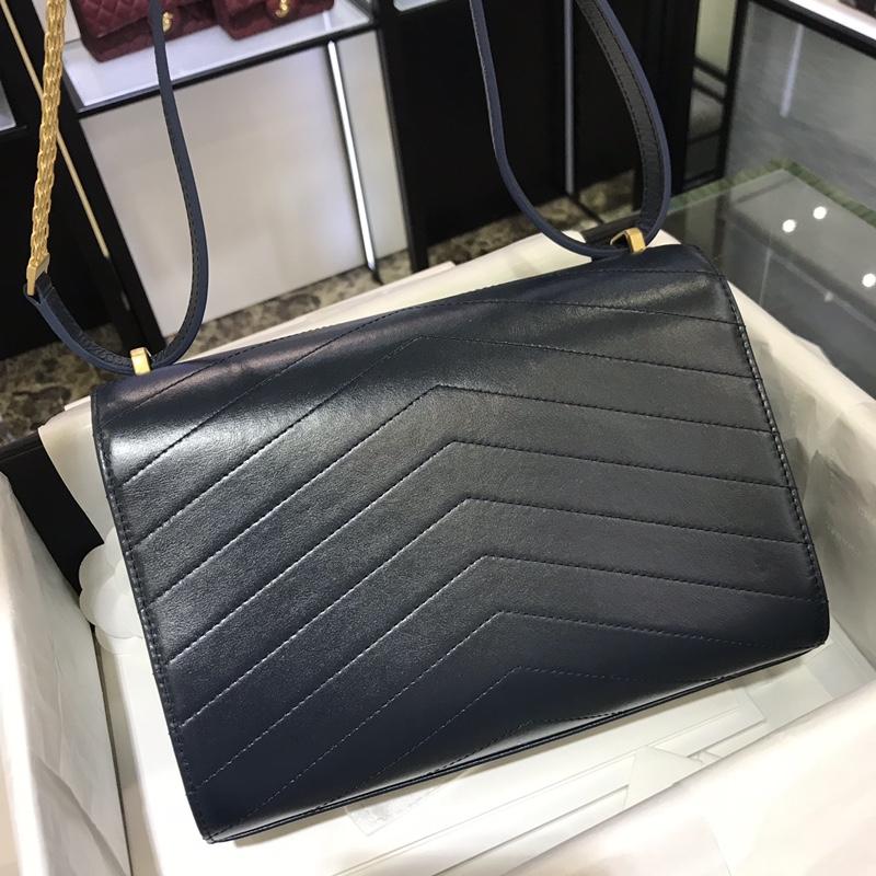 Chanel 新款 2018巴黎汉堡系列 进口牛皮 斜跨包 中号16x7x23cm 宝石蓝 现货