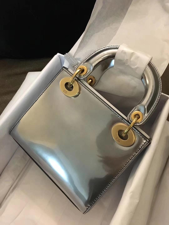 Dior 迪奥 mini 镜面皮 戴妃包 Lady Dior 完美 ZP打版