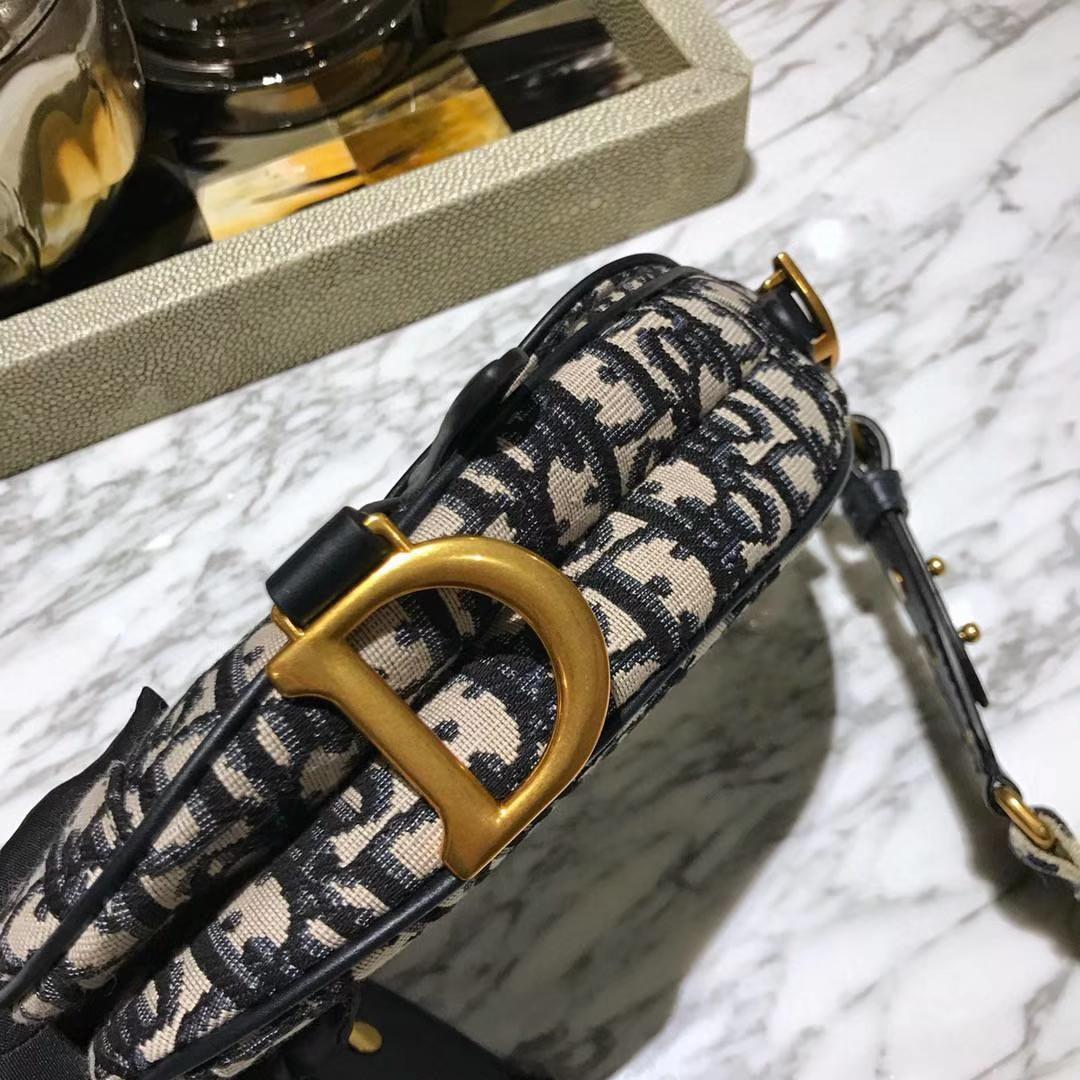 Dior 马鞍包 迪奥 布纹 小号 原装短肩带
