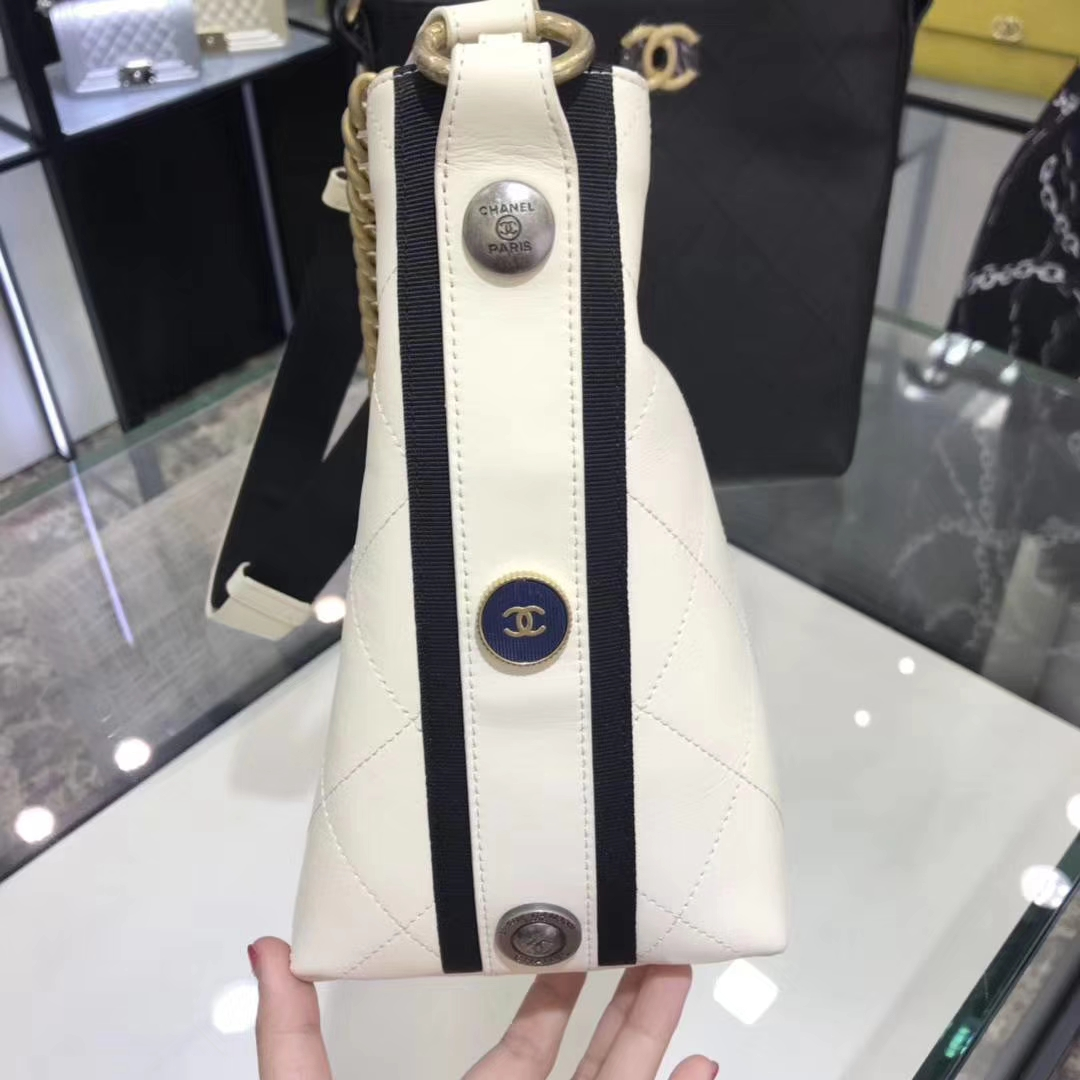 香奈儿 Chanel 嬉皮包 18秋冬 意大利定制级进口小牛皮 专柜同步 古金五金 顶级原单