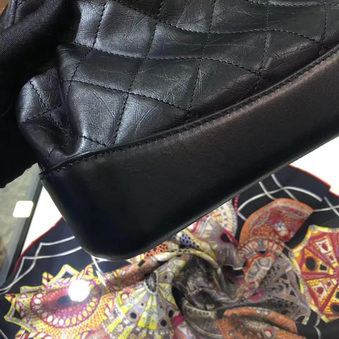 Chanel 香奈儿 流浪背包包 黑色 少量现货