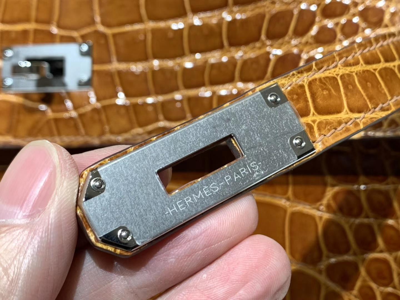 凯莉包 Kelly25CM 4g焦糖色brulee 金扣 配全套专柜原版包装