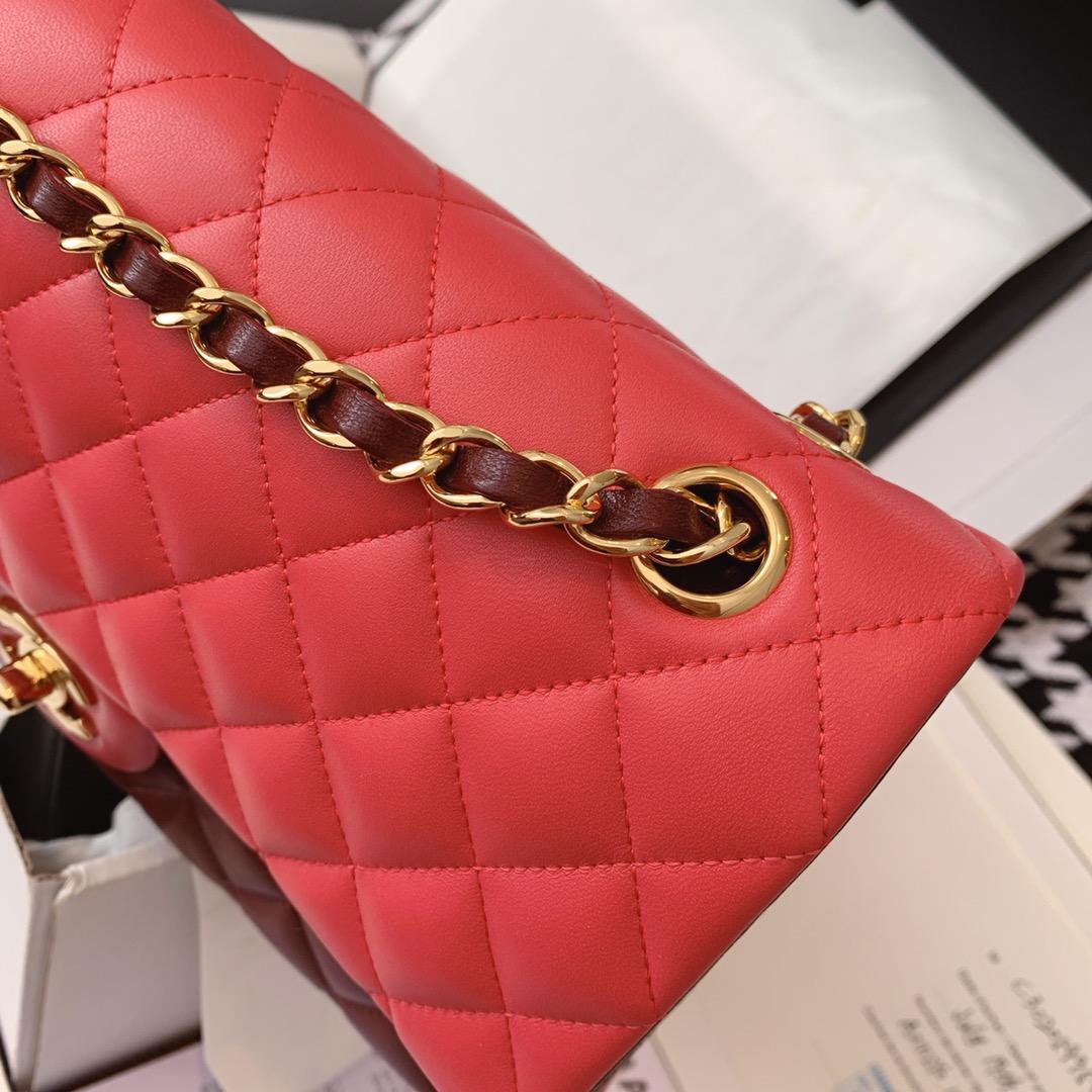 Chanel 香奈儿 原厂bodin joyeux 羔羊皮 CF 25cm