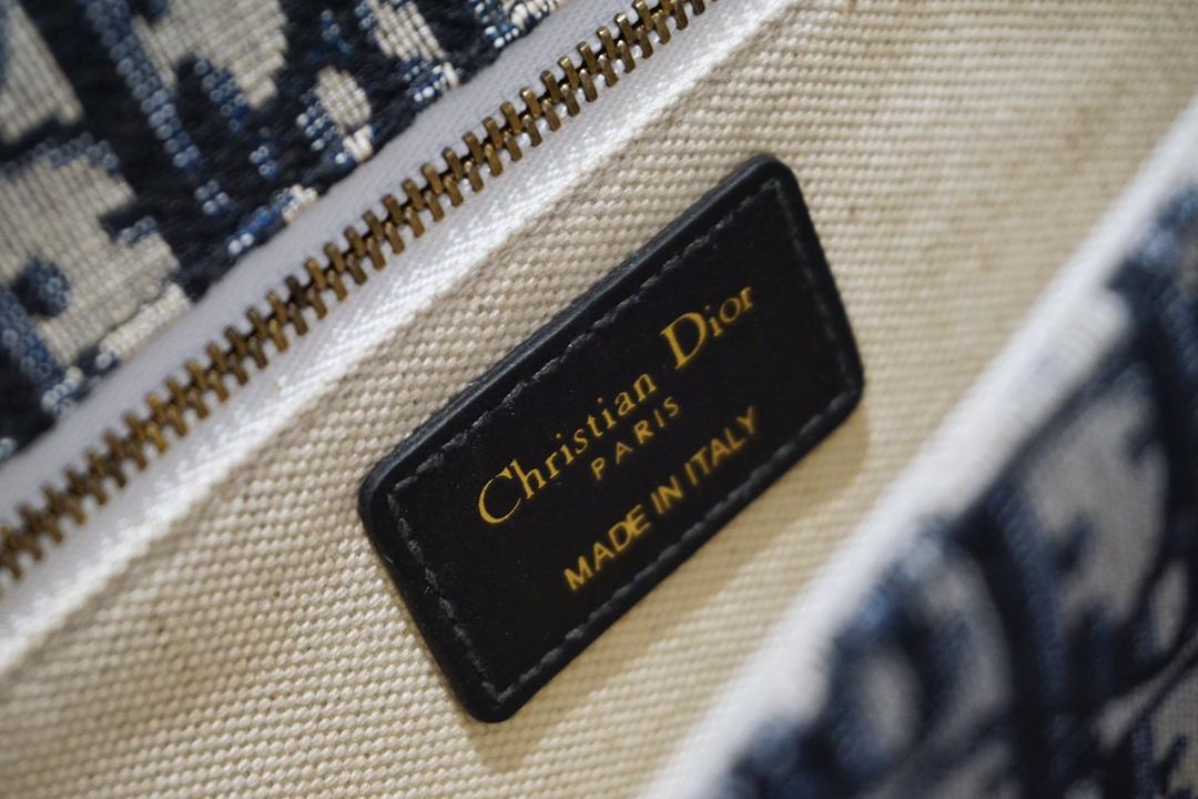 Dior 迪奥 miss 蓝D老花布纹 斜挎包 代工厂出货 进口五金