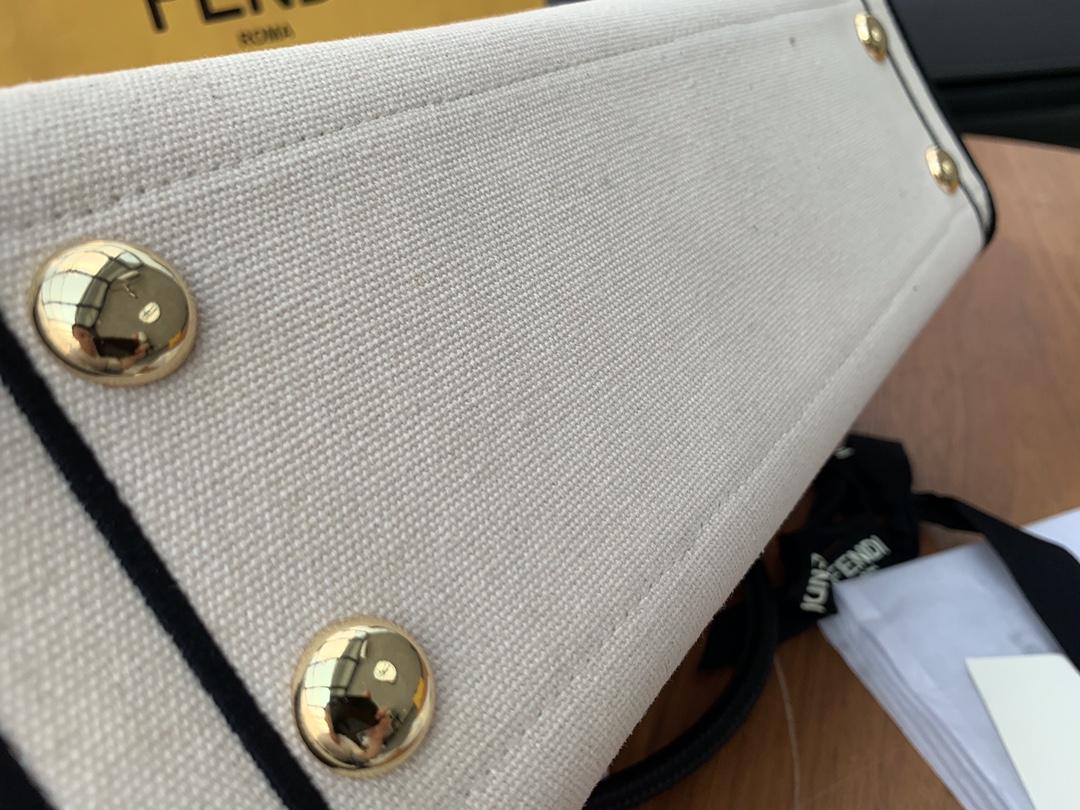 CaliforniaSky加州最新系列 ShoppingBag购物袋 未染色帆布材质演绎温画风 35x38x12cm