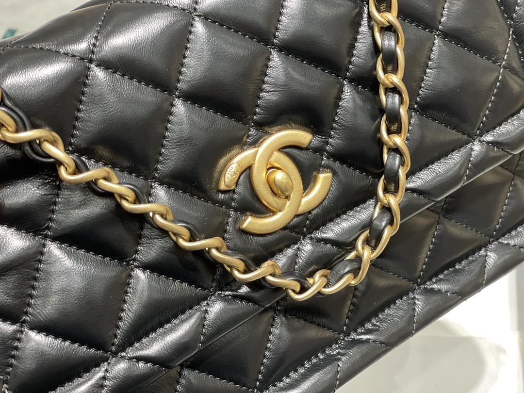 Chanel 金币豆腐包 大号 25Cm  金币元素和复古工艺 象征着幸运与贵气