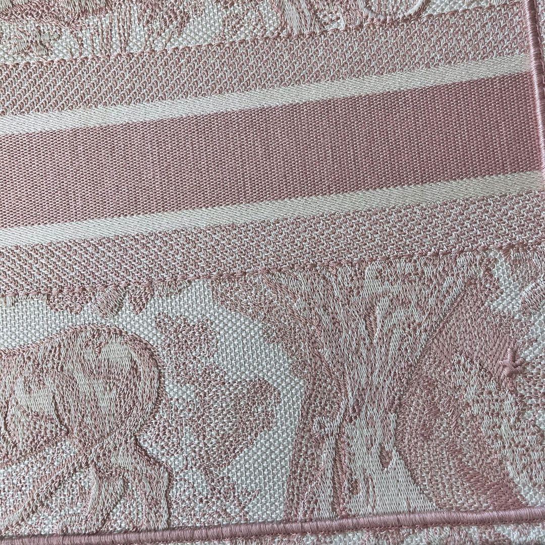DIOR 迪奥 购物袋 粉•老虎小号/36.5cm 可与丝巾小件配饰自行巧妙搭配