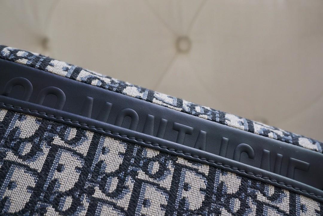 Dior 迪奥 Bobby 布纹蓝 中号 22cm ~摩登复古,高级经典