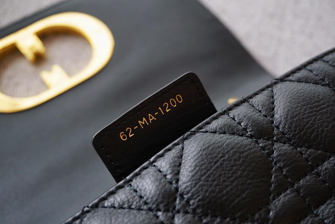 Dior 迪奥 Caro小号,20cm 黑色实拍 摩登时尚 全新DIOR风格