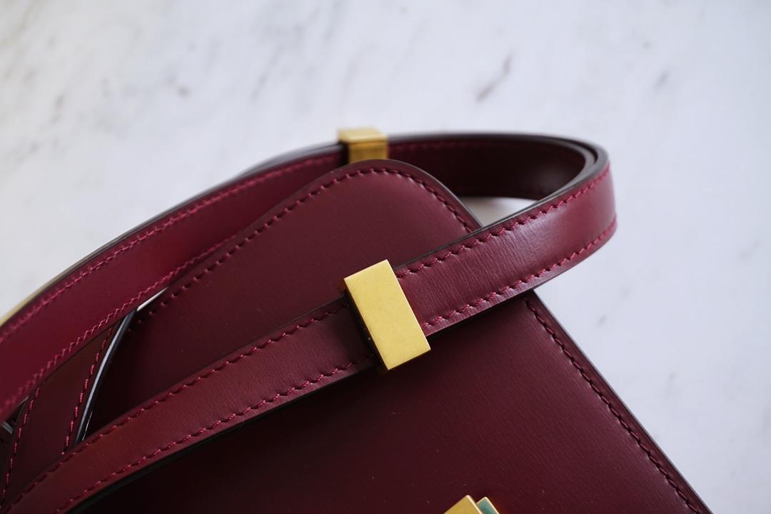 Box Teen/18.5cm -玫瑰红,显气质 -别有一番风味~