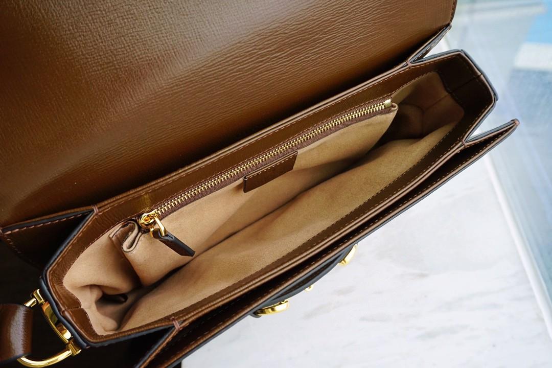 GUCCI 古琦 1955 mini 20.5cm 文艺本艺-时髦本髦 2021最新款 适合各种年龄身高